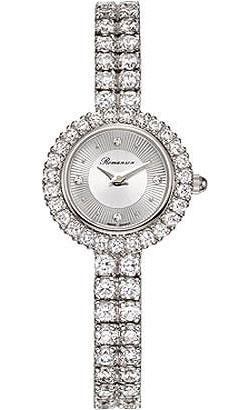 Женские часы Romanson RM3254QLW(WH) romanson rm 6a31c lw wh