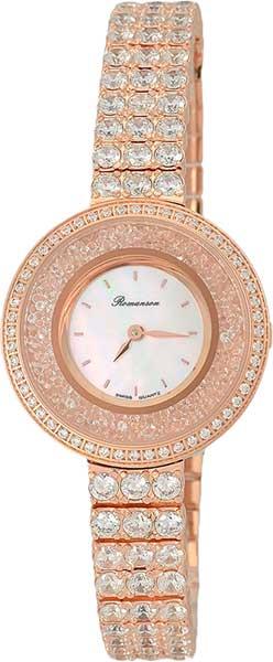 Женские часы Romanson RM3264QLR(WH) romanson rm 6a31c lw wh