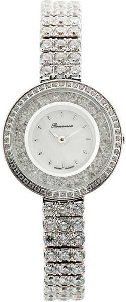 Женские часы Romanson RM3264QLW(WH) romanson rm 6a31c lw wh