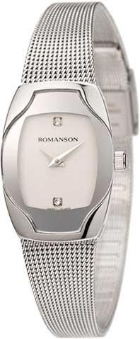 Женские часы Romanson RM4204LW(WH) romanson rm 7a16q lw wh