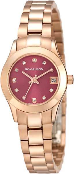 Женские часы Romanson RM4205LLR(PUR) romanson rm 6a31c lw wh