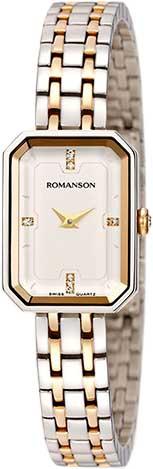 Женские часы Romanson RM4207LLC(WH) romanson rm 6a31c lw wh