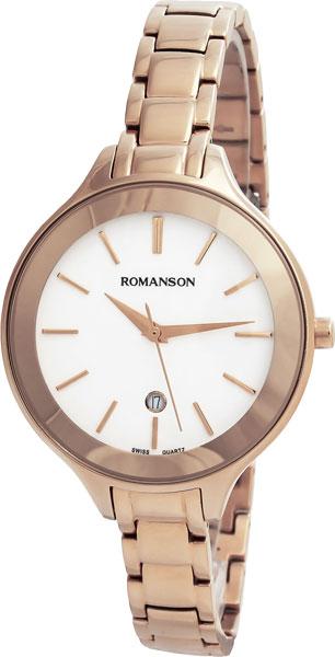 Женские часы Romanson RM4208LLR(WH)