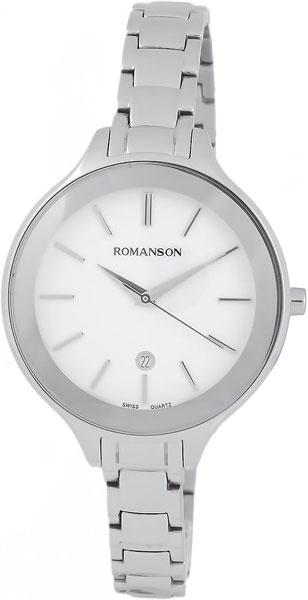 Женские часы Romanson RM4208LW(WH) женские часы romanson rm4208lw wh