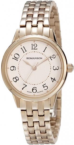 Женские часы Romanson RM4224LR(WH) romanson rm 7a30q lr wh
