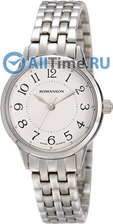 Женские часы Romanson RM4224LW(WH) romanson rm 5a23 lw wh