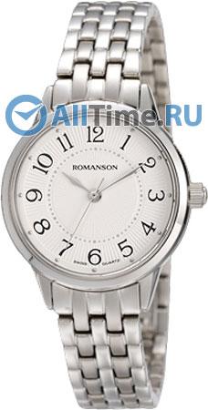 Женские часы Romanson RM4224LW(WH) romanson rm 7a16q lw wh