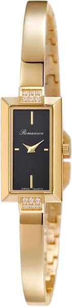 Женские часы Romanson RM4235QLG(BK) romanson rm 6a31c lw wh