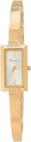 Женские часы Romanson RM4235QLG(WH) romanson rm 6a31c lw wh