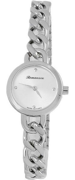Женские часы Romanson RM4242LLW(WH) romanson rm 6a31c lw wh