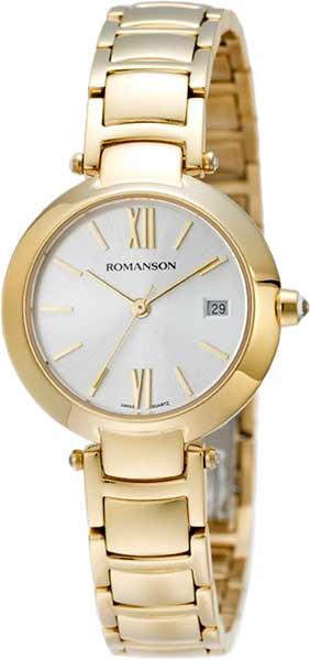 Женские часы Romanson RM5A06LLG(WH) romanson rm 6a31c lw wh