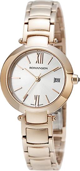 Женские часы Romanson RM5A06LLR(WH) romanson rm 6a31c lw wh