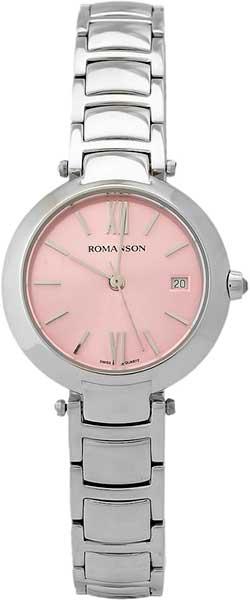 Женские часы Romanson RM5A06LW(PK) romanson rm 4203q lw pink