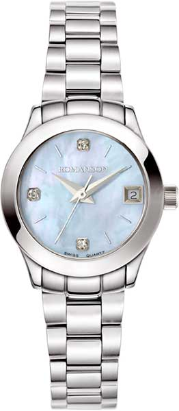 Женские часы Romanson RM5A14LLW(BU) цена и фото