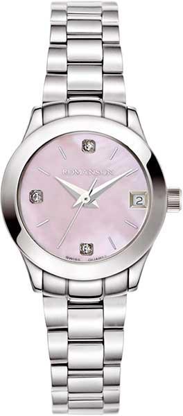 Женские часы Romanson RM5A14LLW(PINK)