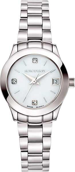 Женские часы Romanson RM5A14LLW(WH) romanson rm 6a31c lw wh