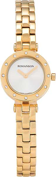 Женские часы Romanson RM5A18TLG(WH) romanson rm 6a31c lw wh