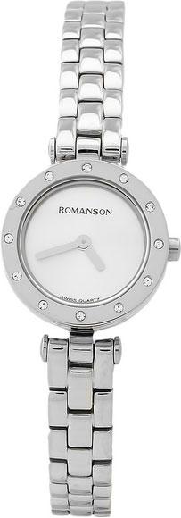 цена Женские часы Romanson RM5A18TLW(WH) онлайн в 2017 году