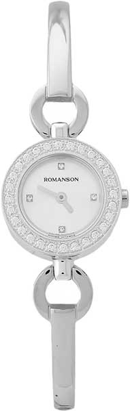 Женские часы Romanson RM5A19QLW(WH) romanson rm 6a31c lw wh