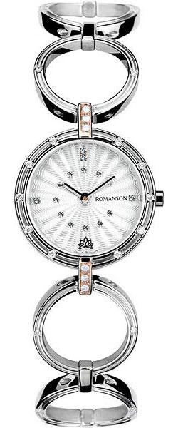 Женские часы Romanson RM6107QLJ(WH) женские часы romanson rm6107qlj wh