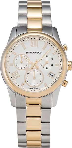 Женские часы Romanson RM6A01HLC(WH) romanson rm 6a31c lw wh