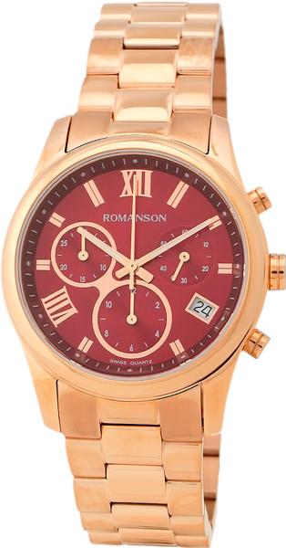Женские часы Romanson RM6A01HLR(WINE) romanson rm 9207q lj gd