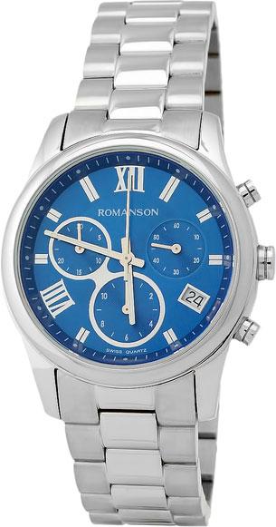 Женские часы Romanson RM6A01HLW(BU) romanson rm 6a31c lw wh
