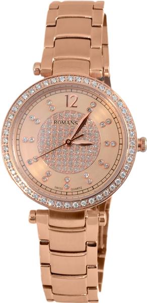 Женские часы Romanson RM6A03QLR(RG) romanson rm 9207q lj gd