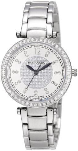 Женские часы Romanson RM6A03QLW(WH)