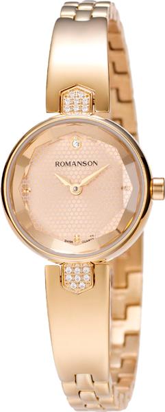 Женские часы Romanson RM6A04QLG(GD) romanson rm 9207q lj gd