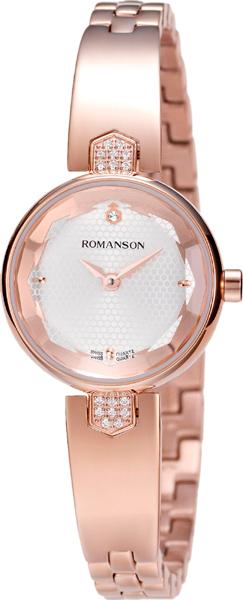 Женские часы Romanson RM6A04QLR(WH) romanson rm 6a31c lw wh