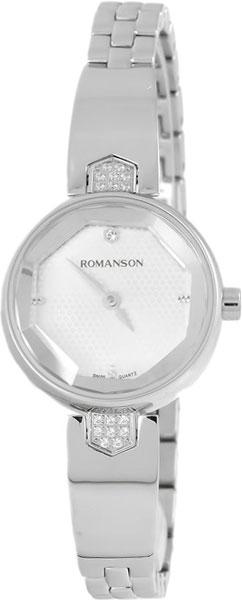 Женские часы Romanson RM6A04QLW(WH) romanson rm 6a31c lw wh