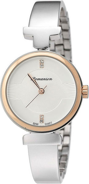 Женские часы Romanson RM6A05LLJ(WH) romanson rm 6a31c lw wh