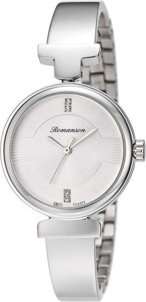 Женские часы Romanson RM6A05LLW(WH) женские часы romanson rm6a05llw wine
