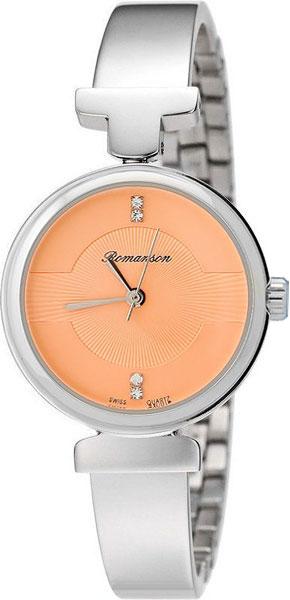 Женские часы Romanson RM6A05LLW(WINE) romanson rm 6a31c lw wh
