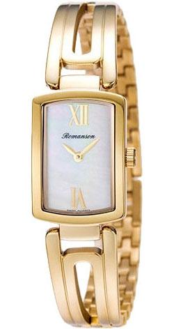 Женские часы Romanson RM6A10LLG(WH)