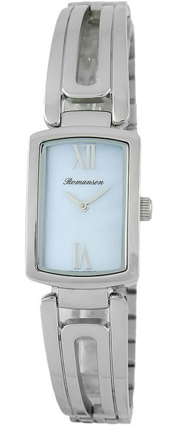Женские часы Romanson RM6A10LLW(BU) romanson rm 6a31c lw wh