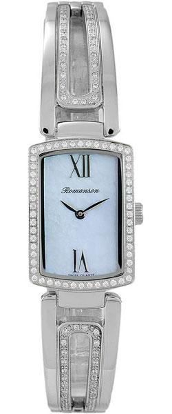 Женские часы Romanson RM6A10QLW(BU) romanson rm 9207q lj gd