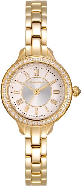 Женские часы Romanson RM6A31QLG(WH) romanson rm 6a31c lw wh