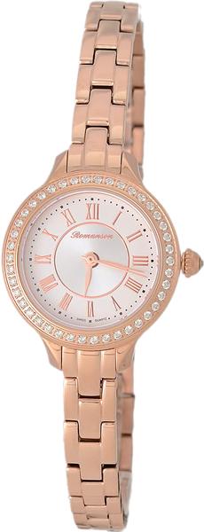 Женские часы Romanson RM6A31QLR(WH) romanson rm 6a31c lw wh