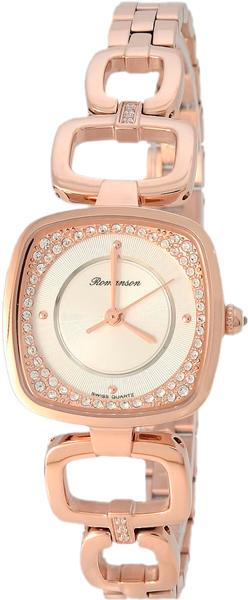 Женские часы Romanson RM6A34QLR(WH) romanson rm 6a31c lw wh
