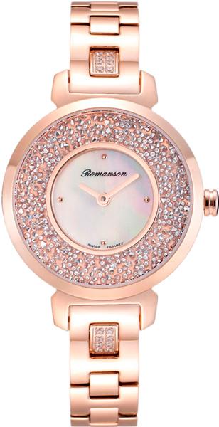 Женские часы Romanson RM6A36QLR(WH) romanson rm 6a31c lw wh