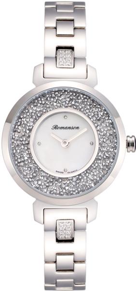 Женские часы Romanson RM6A36QLW(WH) romanson rm 6a31c lw wh