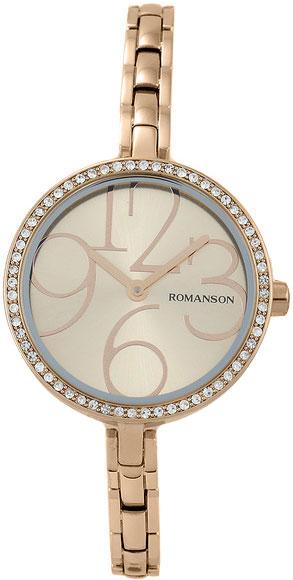 Женские часы Romanson RM7283QLR(RG) romanson rm 6a31c lw wh