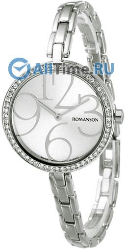 Женские часы Romanson RM7283QLW(WH) romanson часы romanson rm5113qlc wh коллекция giselle