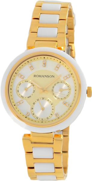 Женские часы Romanson RM7A01FLG(GD) женские часы romanson rm8276lg gd