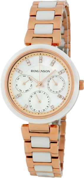 Женские часы Romanson RM7A01FLR(WH) romanson rm 6a31c lw wh