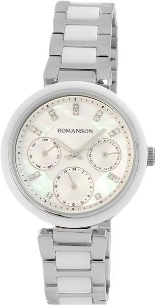 Женские часы Romanson RM7A01FLW(WH) romanson rm 6a31c lw wh