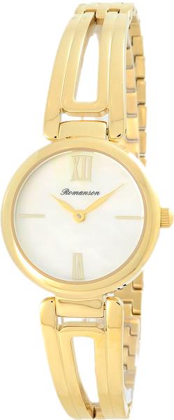 Женские часы Romanson RM7A02LLG(WH) romanson rm 6a31c lw wh