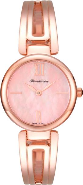 Женские часы Romanson RM7A02LLR(PINK) romanson rm 9207q lj gd